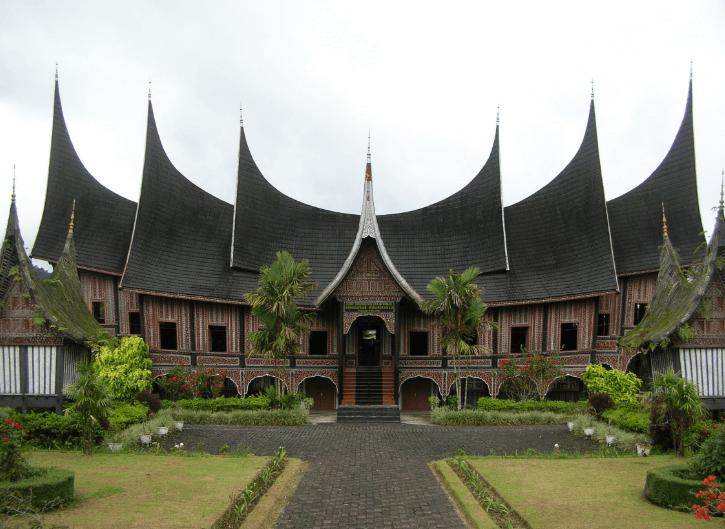 Gambar Nama Rumah Adat Sumatera Barat Dan Penjelasannya